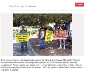 USFSPA protest