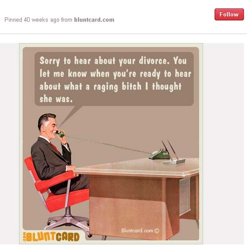 Divorce Humor - Husband