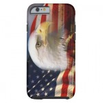 bald_eagle_head_and_american_flag_cell-phone-case
