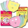 Girl Potty Party Supplies Kit: Toilet Training Book, Stickers, Chart, Invitations, Diaper Thank You Notes